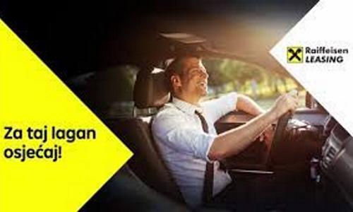 Raiffeisen Leasing omogućio nabavku vozila po akcijskim uvjetima